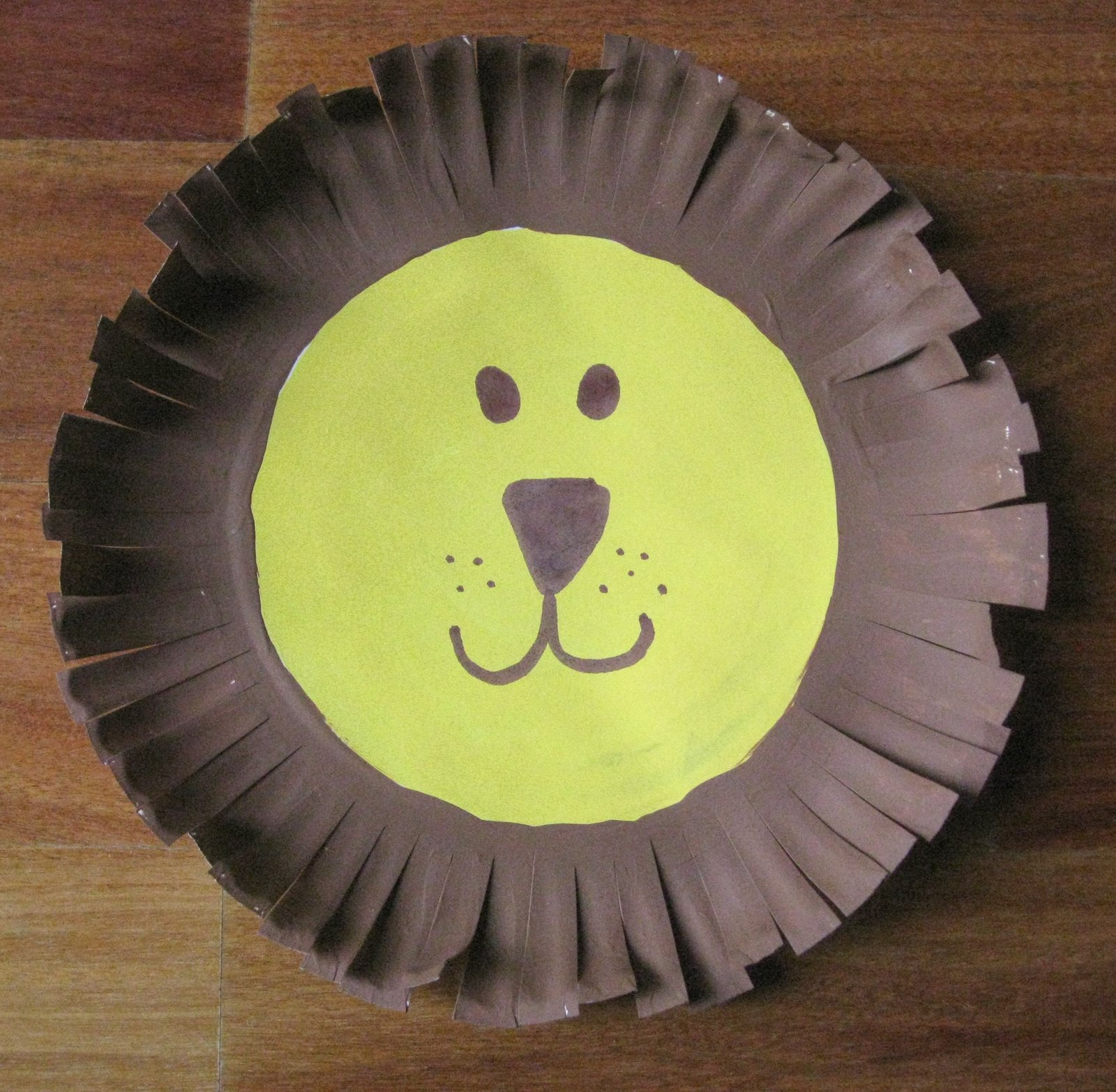 cindy derosier my creative life paper plate lion