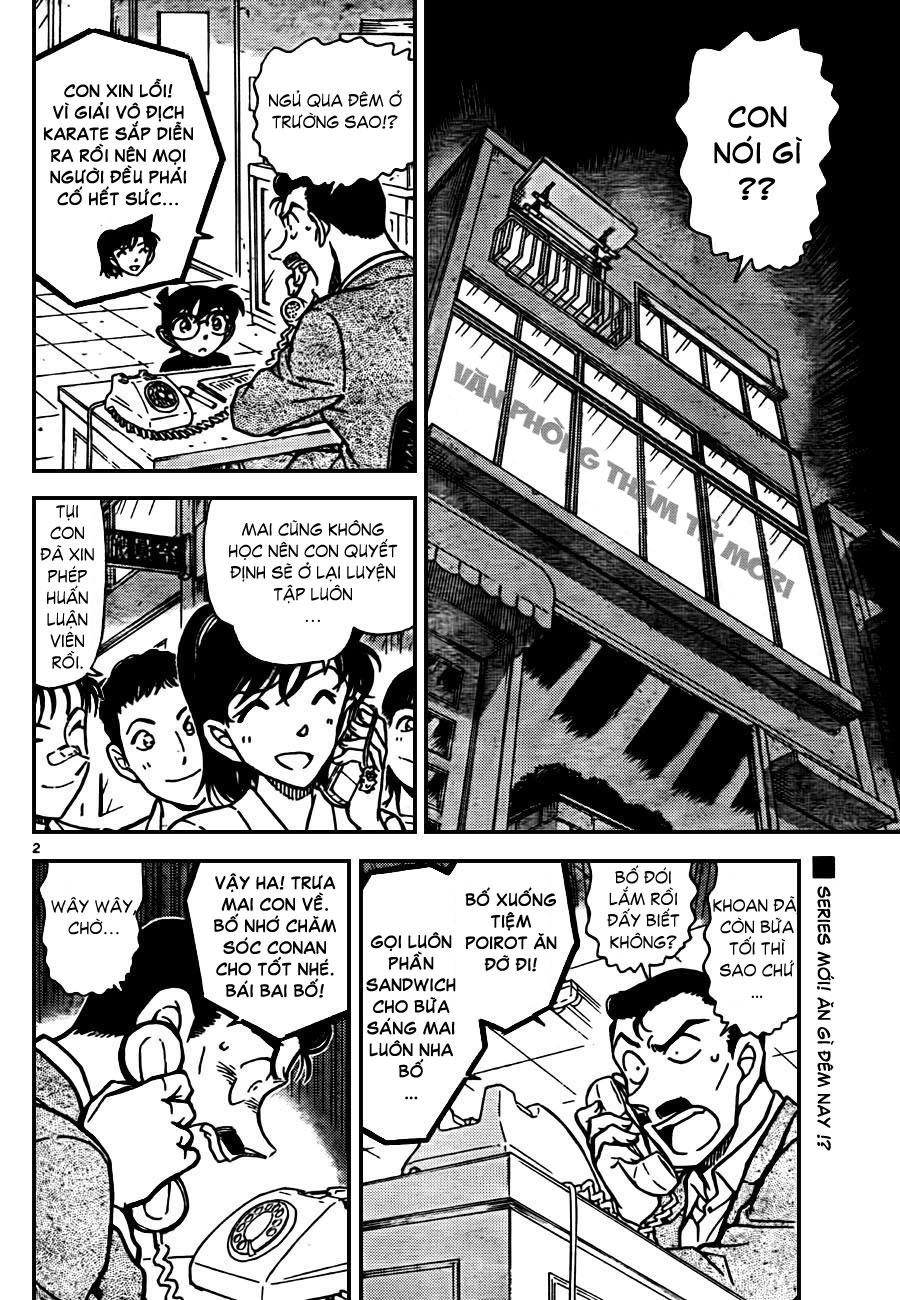 Detective Conan - Thám Tử Lừng Danh Conan chap 765 page 3 - IZTruyenTranh.com