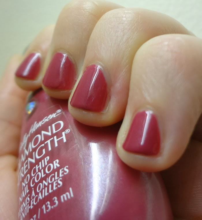 Luminous Tulips nail polish from the Diamond Strength Sally Hansen Line