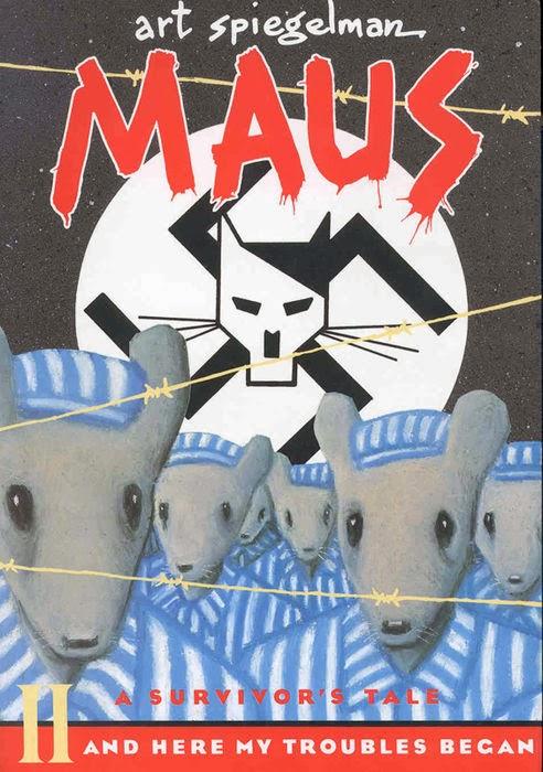 Portada de 'Maus' (1990), de Art Spiegelman .