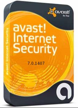 Avast Internet Security 7.0.1407