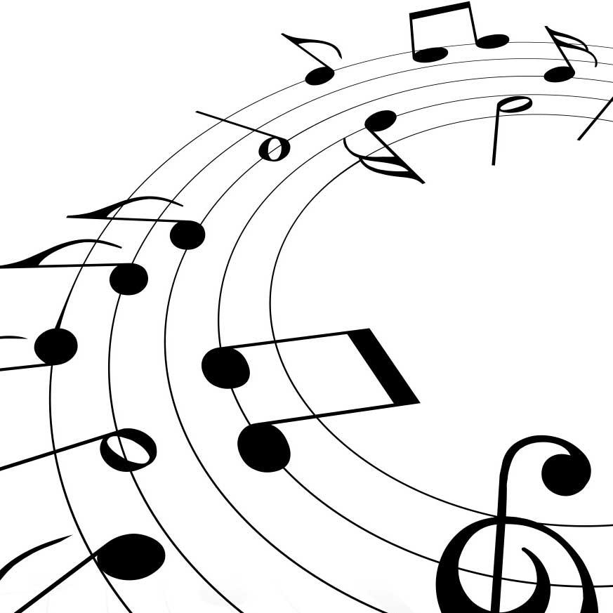 Yazasım var öylesine ıçim müziğin ritmi müzik her yerim