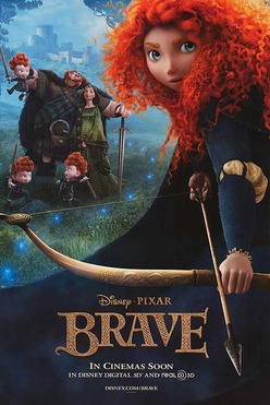 Film poster Brave 2012 animatedfilmreviews.filminspector.com