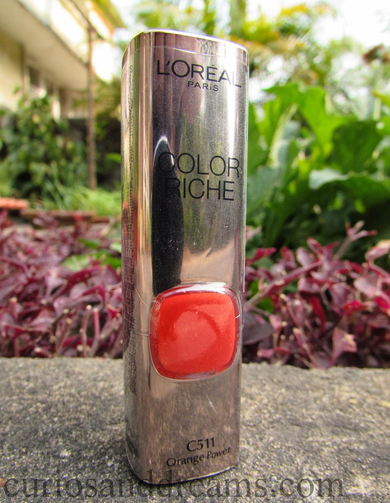 L'Oreal Paris Color Riche Moisture Matte Lipstick Orange Power Review, L'Oreal Paris Color Riche Moisture Matte Lipstick review