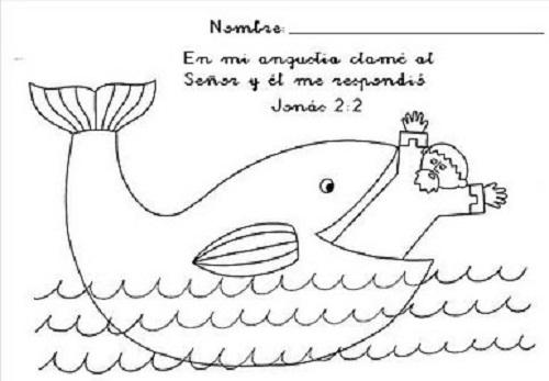 Contemporáneo Jonah Para Colorear Friso - Páginas Para Colorear ...