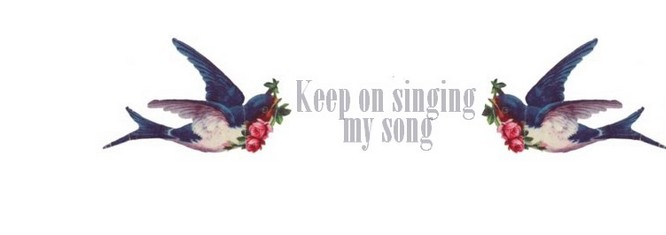 Keep on singing my song
