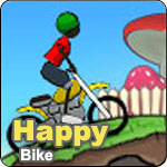 Happy Bike game online flash