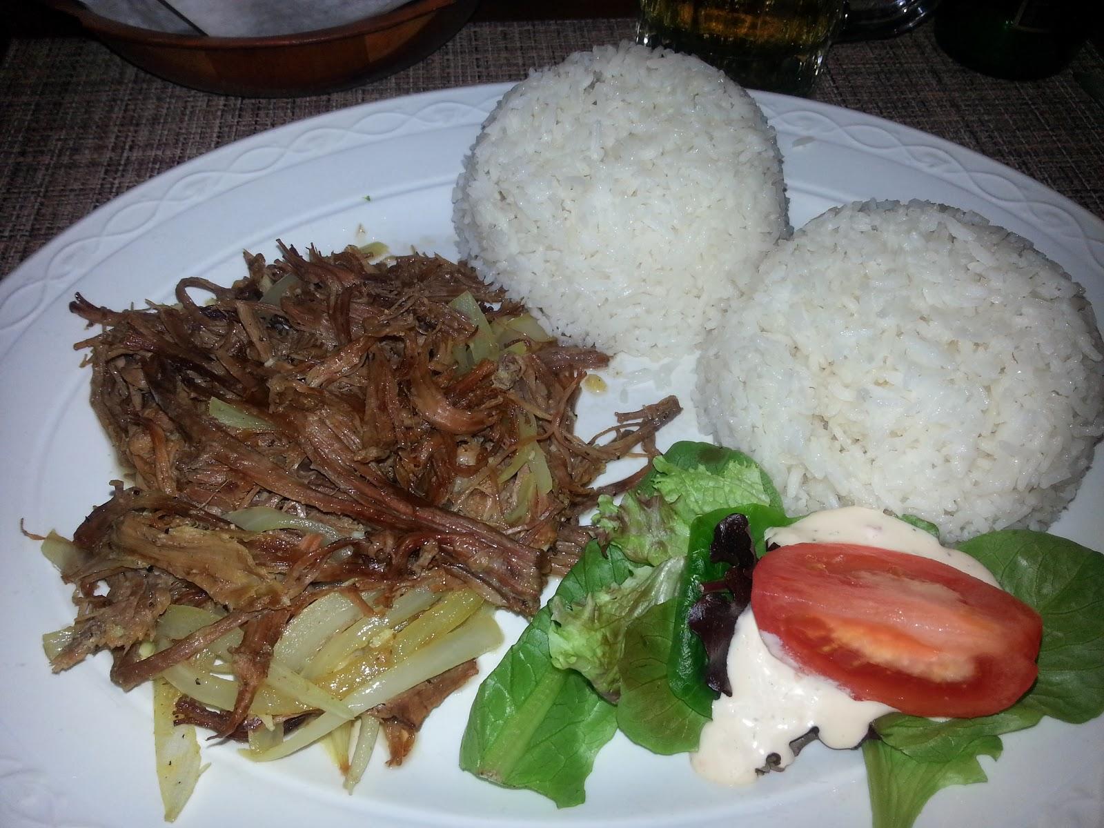 Caribbean Cafe Vaca Frita