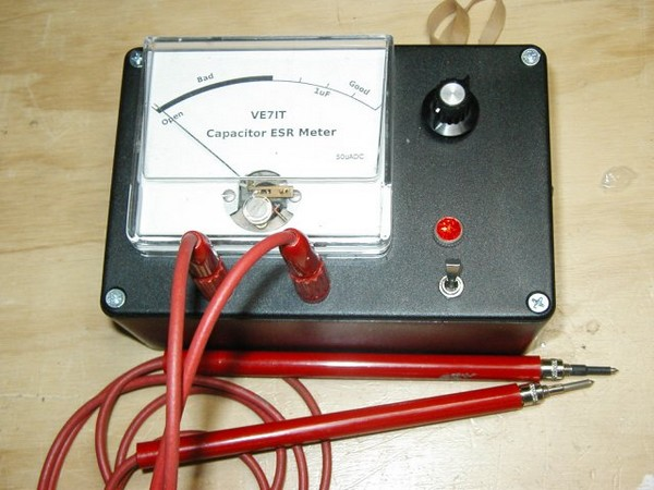 Analog Capacitor ESR Tester