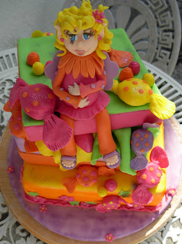 bolo de aniversário de menina