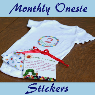 Monthly Photos-Free Printable Month Stickers Roundup