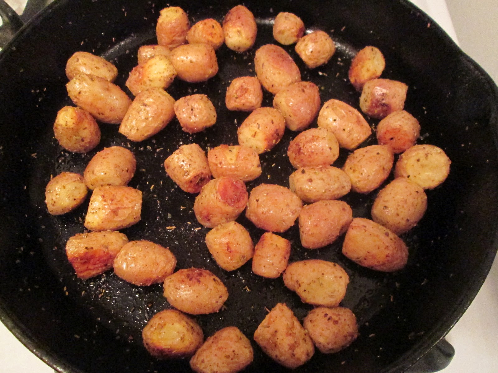 Roasted Teeny Tiny Potatoes