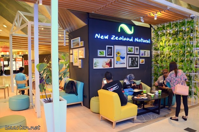 Check out the new comfortable ambiance at New Zealand Natural