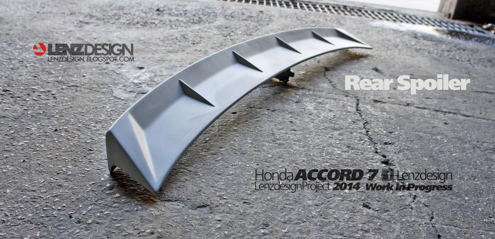 Honda accord 7 tuning lenzdesign performance