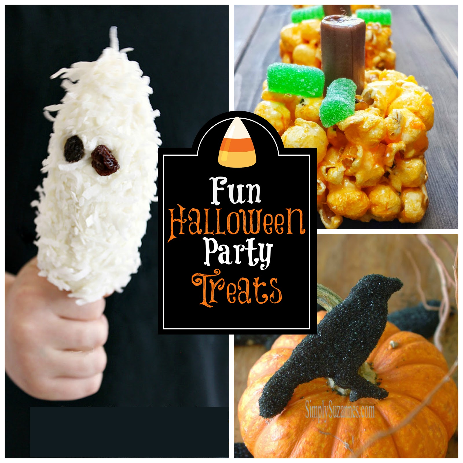 Posed Perfection: Fun Halloween Party Treats