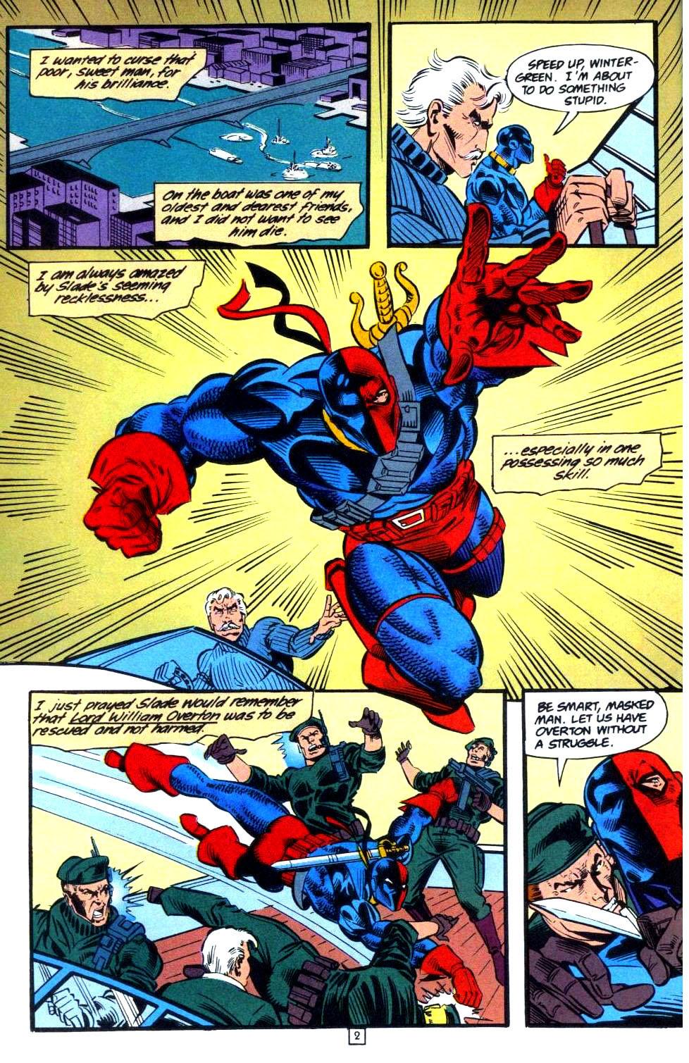 Deathstroke (1991) Issue #36 #41 - English 3