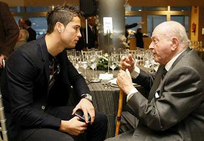 Cristiano Ronaldo and Alfredo Di Stefano