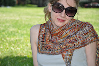 Little Colonnade shawl