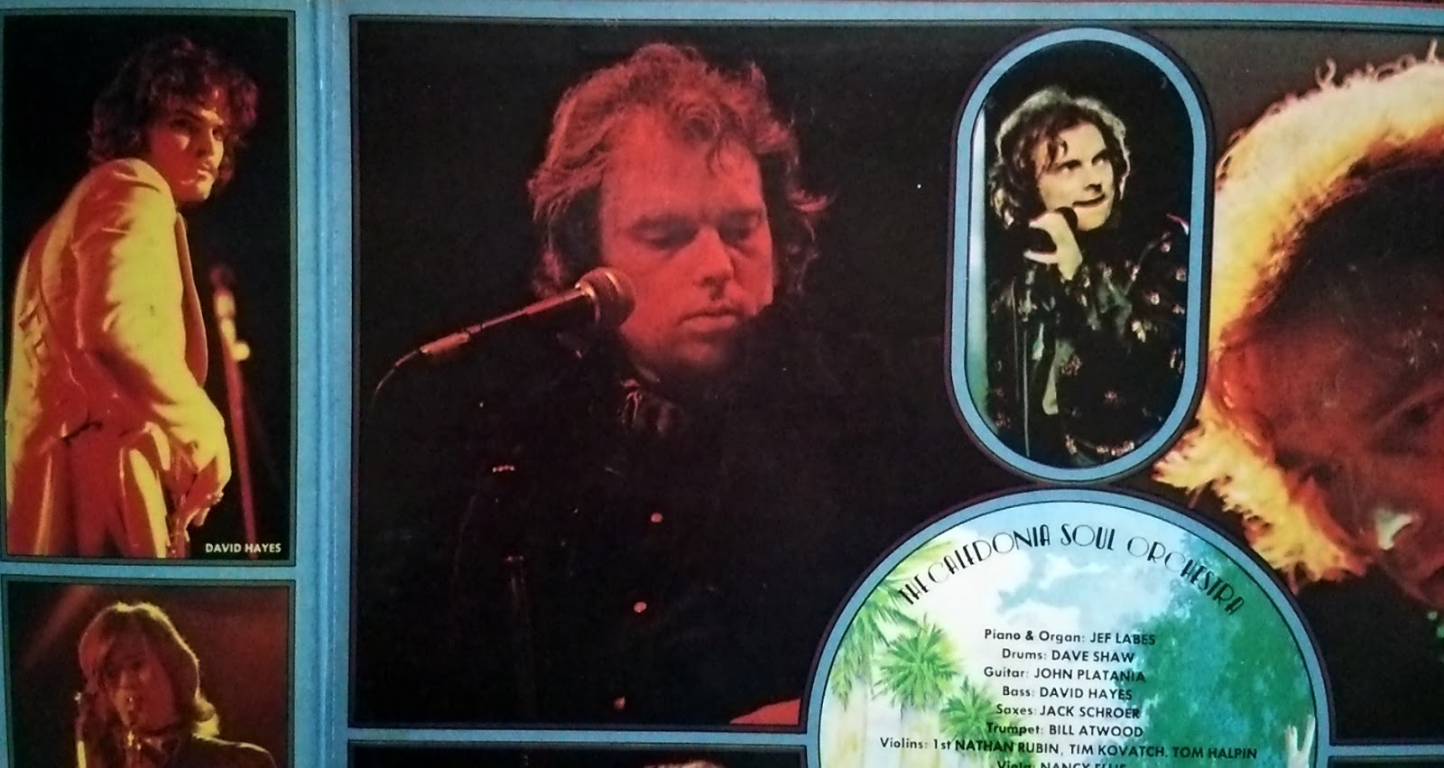 Van Morrison ‎ヴァン・モリソン - It's Too Late To Stop Now 魂の道のり - inside2