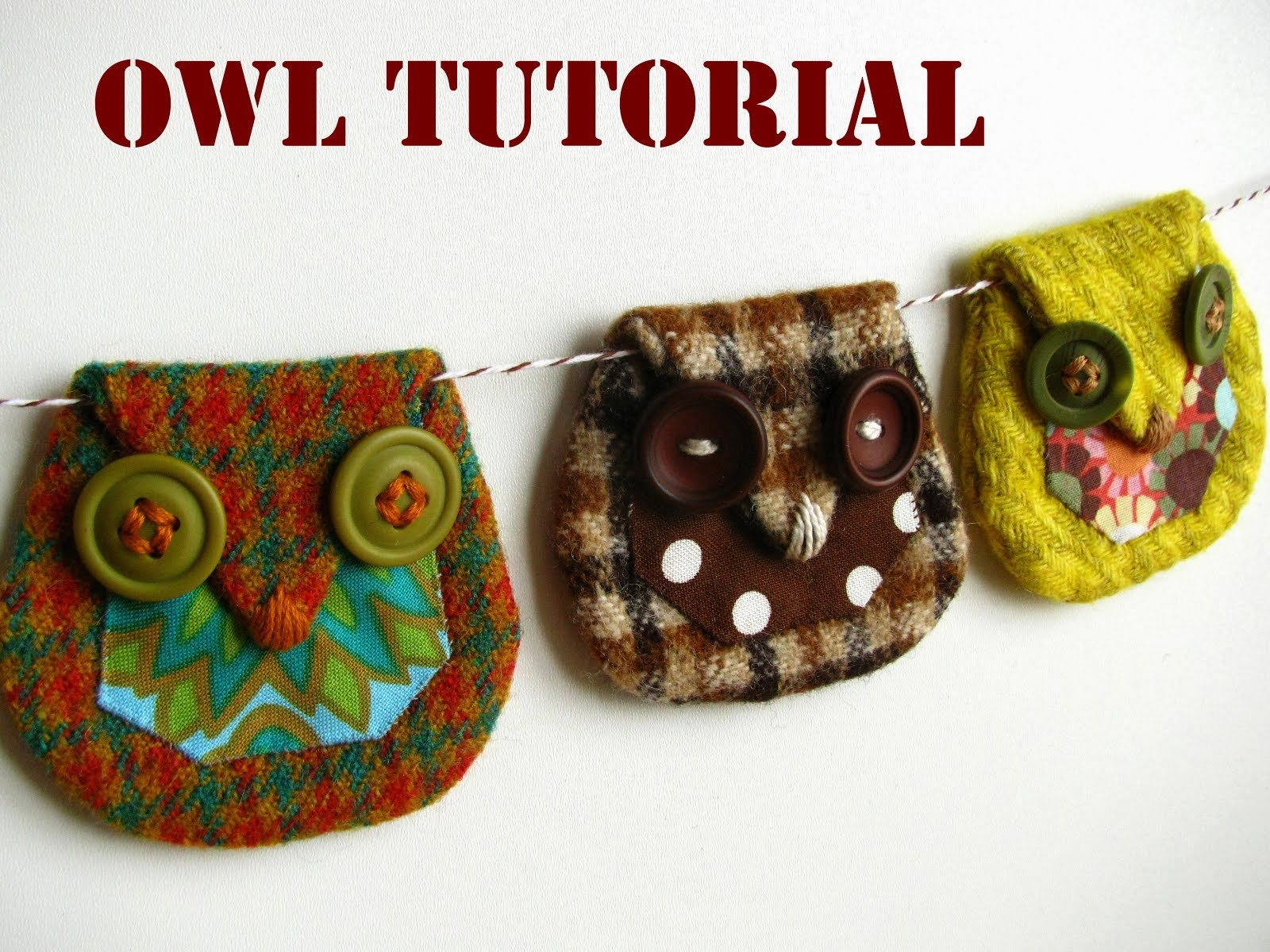 Wool Owl Tutorial