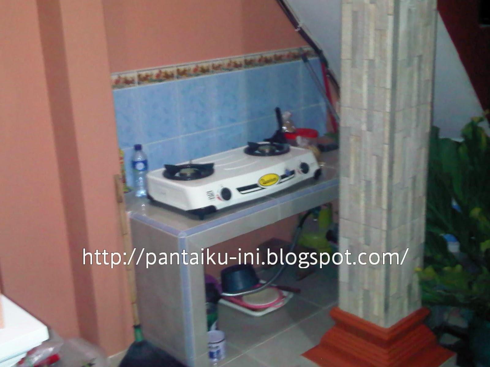 Dapur Pondok Alin - http://pantaiku-ini.blogspot.com/2014/10/detaiil-pondok-alin.html