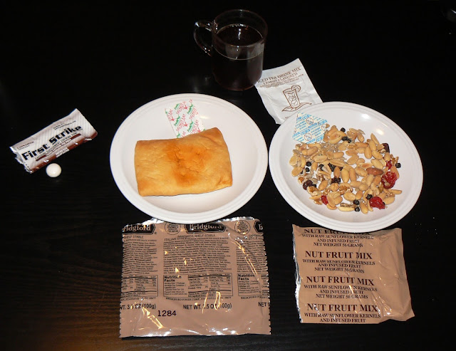 MRE Review: First Strike Ration Menu 2: Italian Style Sandwich and Trail Mix