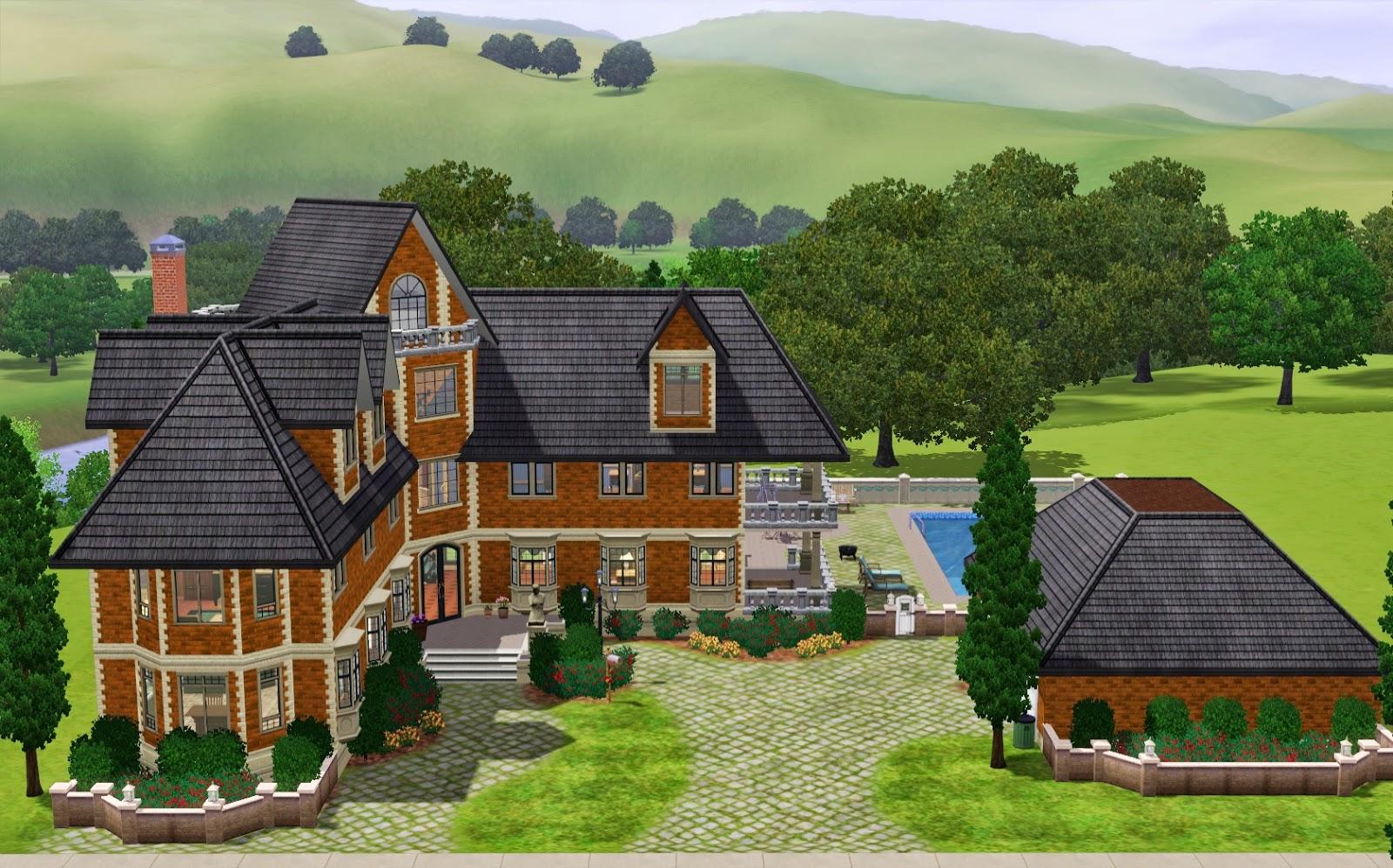 Summer S Little Sims 3 Garden Riverview List Of Houses