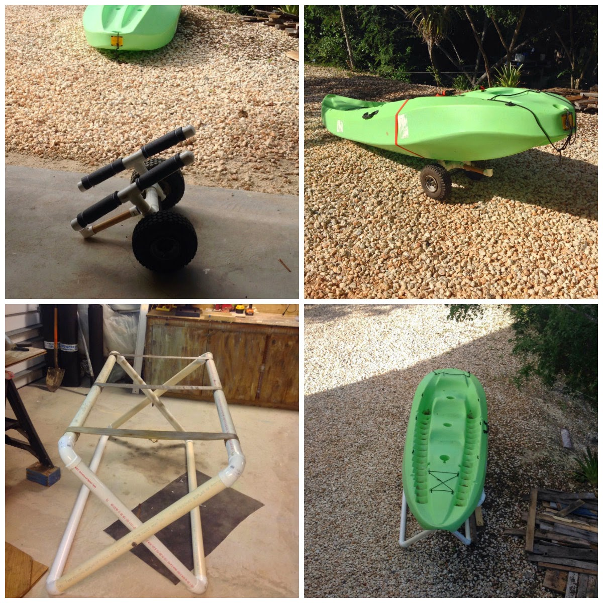Yakity Yak Diy Pvc Kayak Dolly Build And Rebuild Island Style Fuse Box With Old Work Stand Tutorial To Come