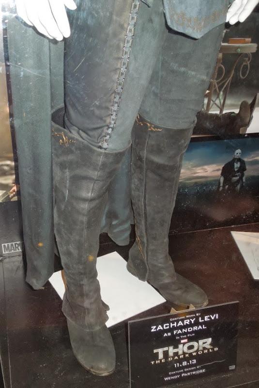 Fandral costume boots Thor Dark World