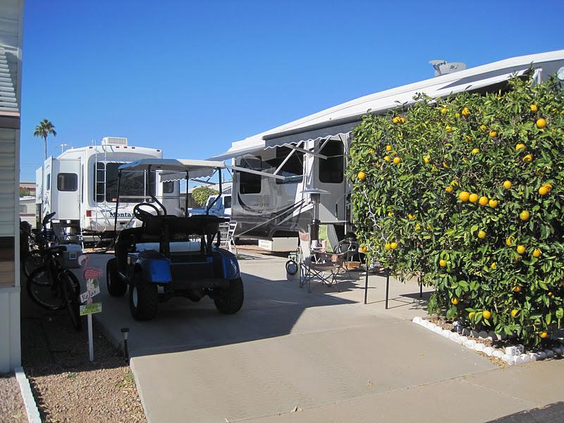 Gypsies In A Caravan Val Vista Village Mesa Az