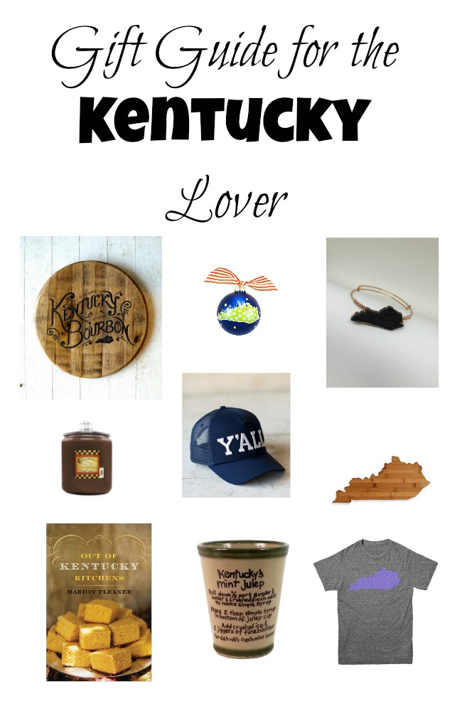 Gift Guide for the Kentucky Lover. Great gifts that are focused on Kentucky