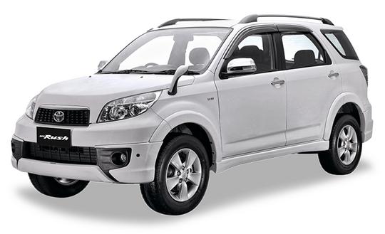 Toyota New Rush White