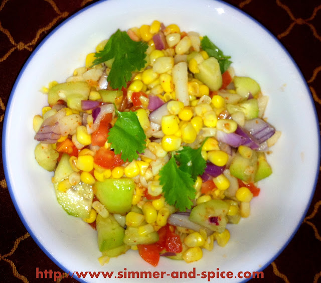 Sweet Corn Salad | To The Herbs
