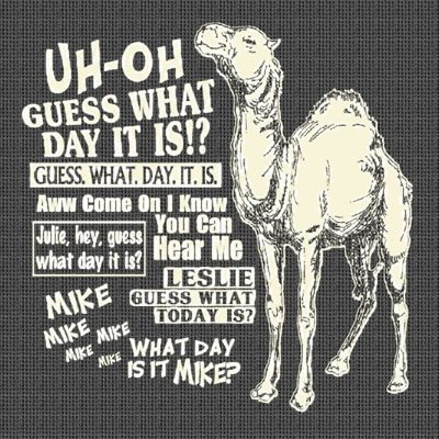Hump day camel geico mike mike