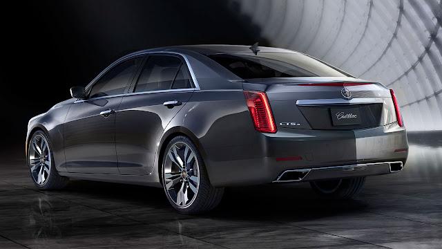 2014 Cadillac CTS Sedan rear