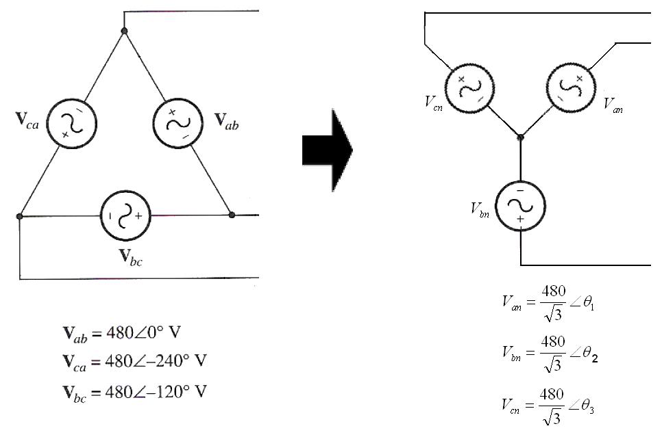 Test: The three phase system has only two types of connections. star ...