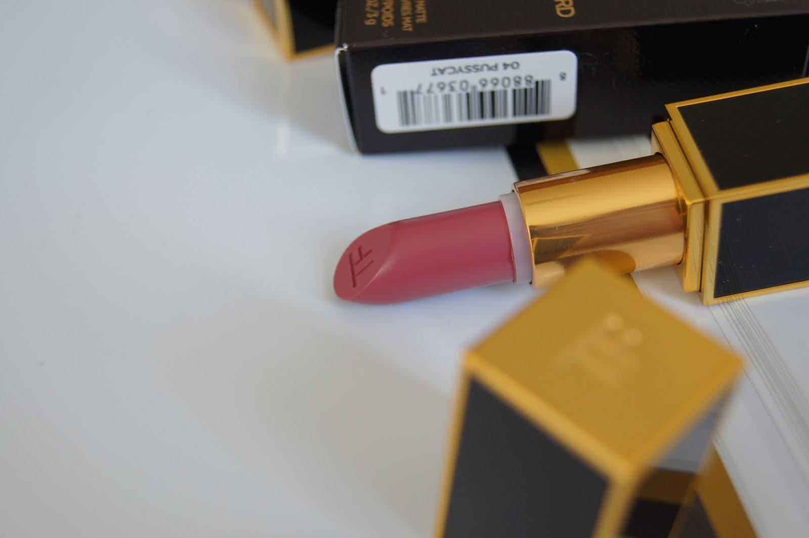 Tom Ford Matte lipsticks Pussycat