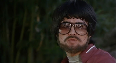 Bearded Bruce Lee stand-in in Game of Death