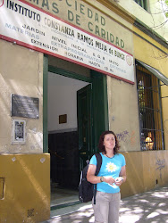Maestra Alicia Paez en el Instituto