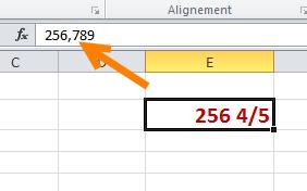décimal et fraction