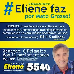 """""""DEPUTADO FEDERAL Eliene é mais EDUCAÇÃO!"""