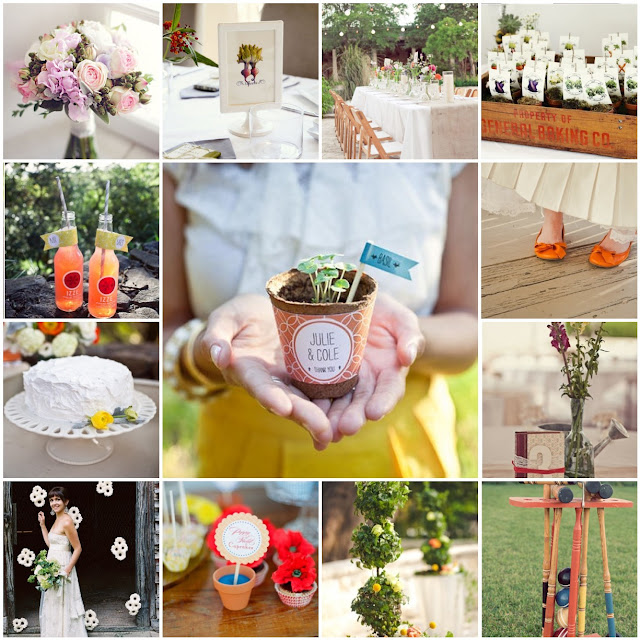 garden party wedding