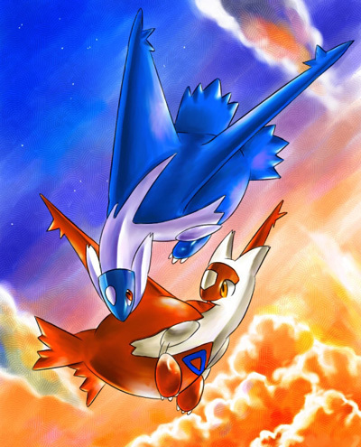 Baby Latias Frost Lord: Pik...