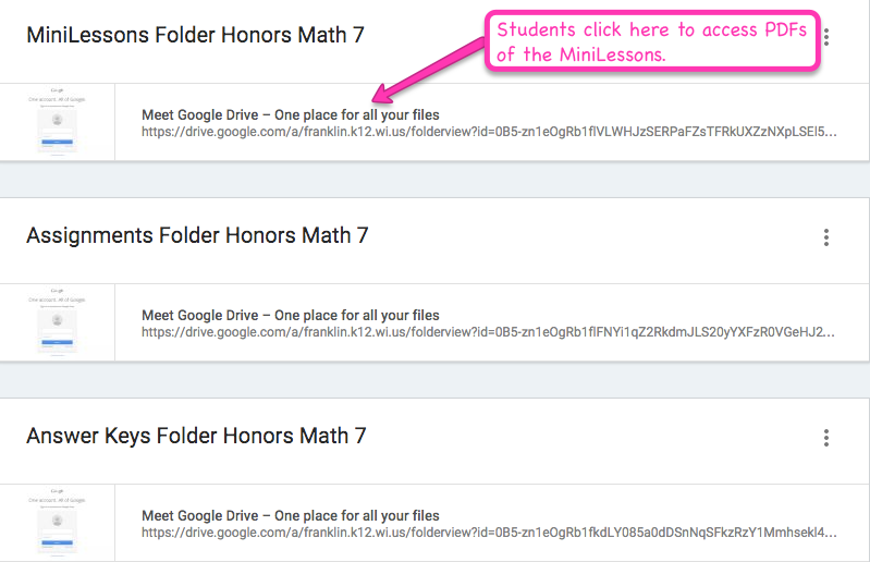Middle School Math Rules!: Google Classroom- Part I