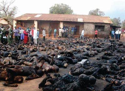 Congregação Cristã e Continente Africano: solicitação de orações Crist%25C3%25A3os+queimados+vivos