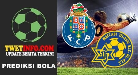 Prediksi Porto vs Maccabi Tel Aviv