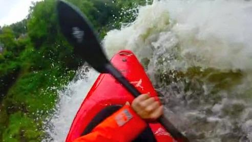 Kyak GoPro Camera Minnehaha Falls