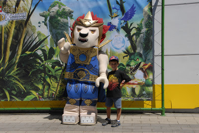 lion at legoland
