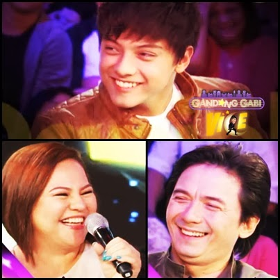 Daniel Padilla Sings 'Ako'y Sayo at Ika'y Akin Lamang' with Parents on GGV (January 26)