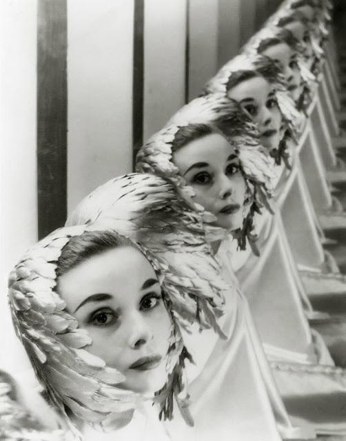 Audrey Hepburn by Erwin Blumenfeld